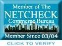 Proud Member of The Netcheck Commerce Bureau - Promoting Ethical Business Practices Worldwide